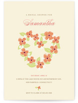 We Love Our Bride Bridal Shower Invitations