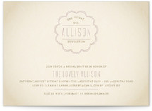 Bonne Amie Bridal Shower Invitations