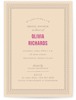 Champs-Élysées Bridal Shower Invitations