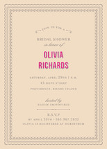 Champs-lyses Bridal Shower Invitations