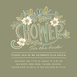 Florella Bridal Shower Invitations