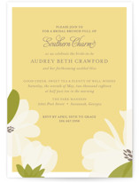 Southern Magnolia Bridal Shower Invitations