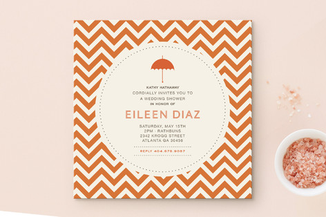 Art deco bridal shower invitations by chica design minted art deco bridal shower invitations filmwisefo