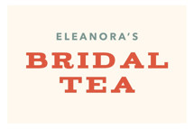 Vintage Bridal Tea by Laura Moyer
