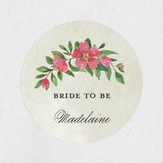 Bridal Garden Bridal Shower Stickers