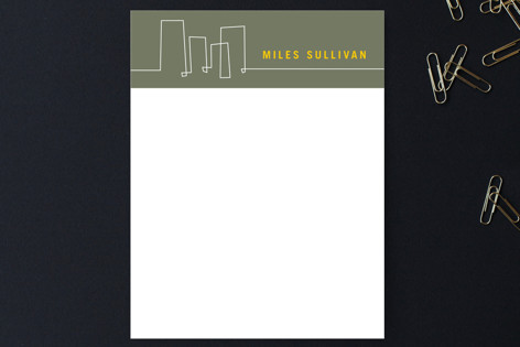 Architectural Lines Business Stationery Cards