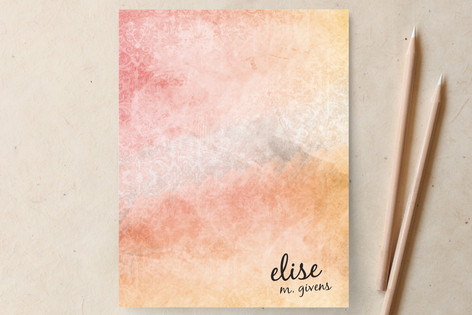 Pastel Wash Business Stationery