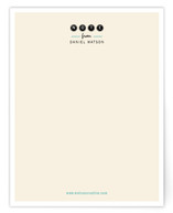 Friendly Type Business Stationery Cards