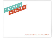 Broad Strokes Business Stationery Cards