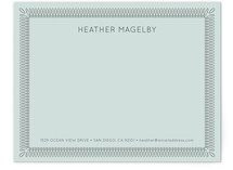 Certified Business Stationery Cards
