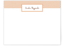 Paprika Patterned Business Stationery Cards