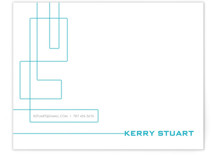 Technological Mark Business Stationery Cards
