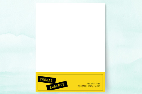 Simple and Twisted Business Stationery