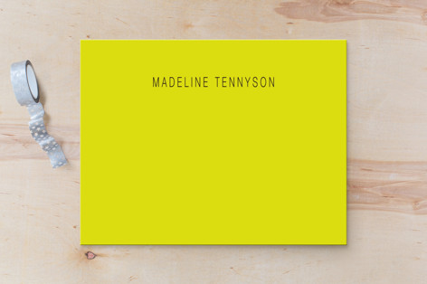Neon Business Stationery Cards