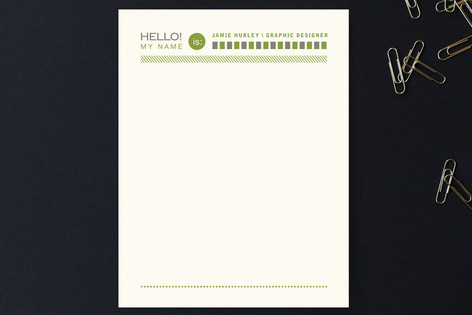 Assembly Lines Business Stationery Cards