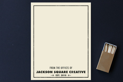 Antique Business Stationery