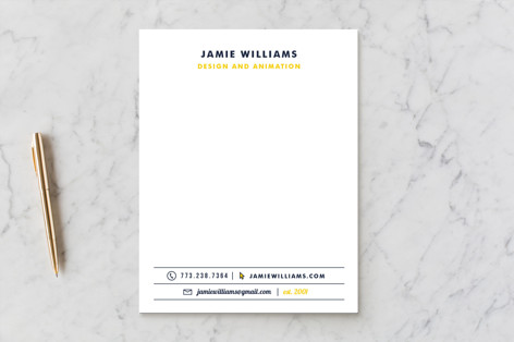 Clean & Dapper Business Stationery