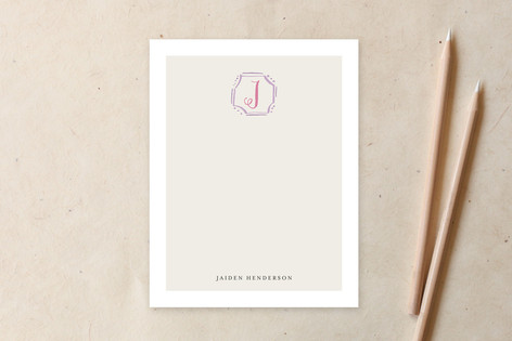Playful Frame Business Stationery