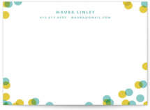 Funfetti Business Stationery Cards