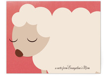 Little Lamb Business Stationery Cards