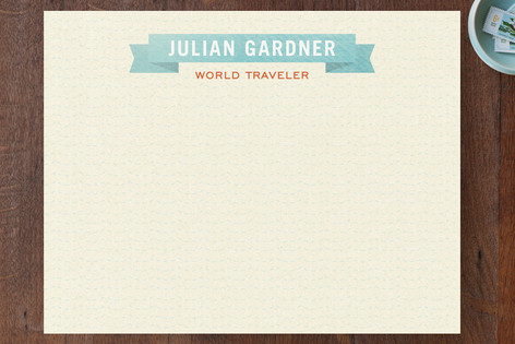 World Traveler Business Stationery Cards