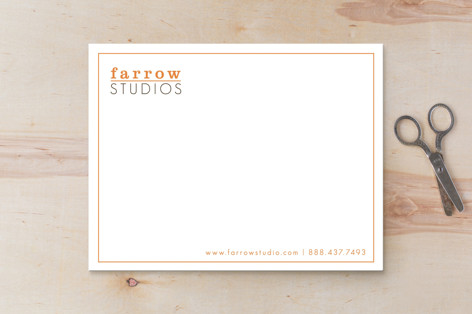 A Bold Impression Business Stationery