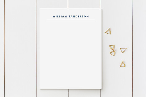 Bold and Basic Business Stationery
