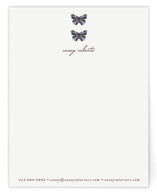 Botanical Butterfly Business Stationery Cards