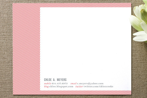Double Take Business Stationery Cards