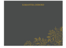 Elegant Floral Business Stationery Cards