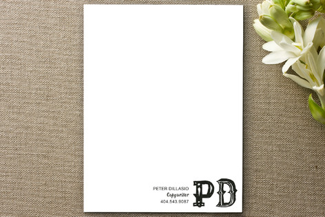 I Like to Write Business Stationery Cards
