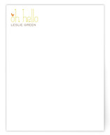 Oh Hello Birds Business Stationery Cards