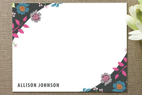 Wild Flowers Business Stationery Cards