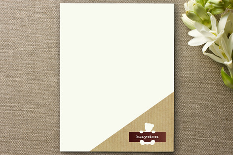 Fave Teddy Business Stationery Cards