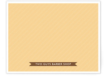 Hey Barber Business Stationery Cards