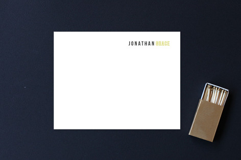 Mod Geo Business Stationery Cards