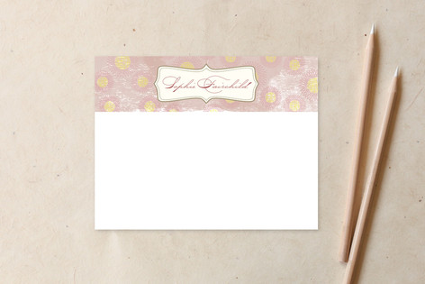 Vintage Bloom Business Stationery Cards
