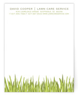Blades of Grass Business Stationery Cards
