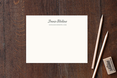 Brownie Business Stationery Cards