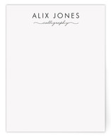 Calligrapher Business Stationery Cards