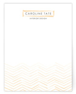Herringbone Stroke Business Stationery Cards