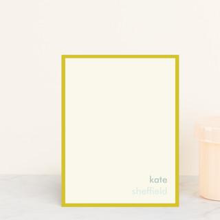 Mustard Stripe Business Stationery