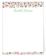 Scarlet Louise Business Stationery Cards
