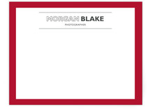 Simple Houndstooth Business Stationery Cards