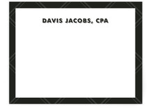 The Accountant Business Stationery Cards
