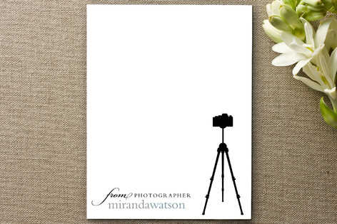 Tripod Business Stationery Cards