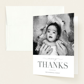 Sweet Welcome Birth Announcements Thank You Cards