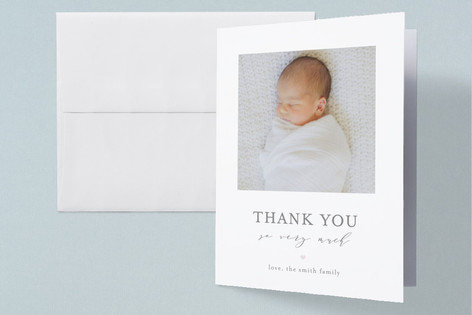 New Addition Birth Announcements Thank You Cards