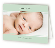 carson Birth Announcements Thank You Cards