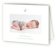 Little Moon Birth Announcements Thank You Cards